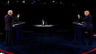مناظره انتخاباتی دوم جو بایدن و دونالد ترامپ