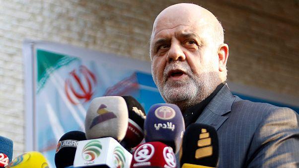 السفير الإيراني في بغداد إيراج مسجدي