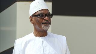 Mali's former president Keita returns after treatment in UAE