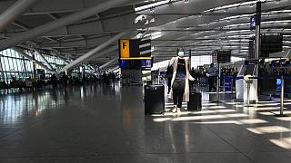 Heathrow Airport Terminal 5, in London
