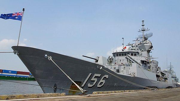 Avustralya Deniz Kuvvetleri'ne bağlı HMAS Toowoomba