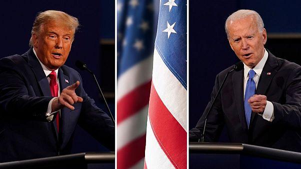 مناظره بین دونالد ترامپ و جو بایدن