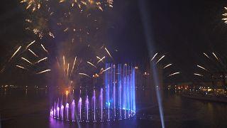 Die neue Palm Fountain in Dubai