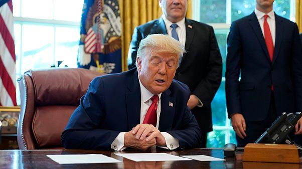 ABD Başkanı Donald Trump Sudan hakkındaki kararını açıklarken