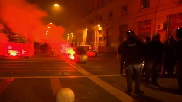 عنف في شوارع نابولي