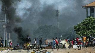 Guinée : Les partisans de l'opposition affrontent les forces de l'ordre