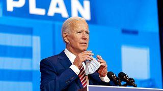 ABD 2020 başkan adaylarından Joe Biden, Trump'ın en büyük rakibi olarak gösteriliyor.