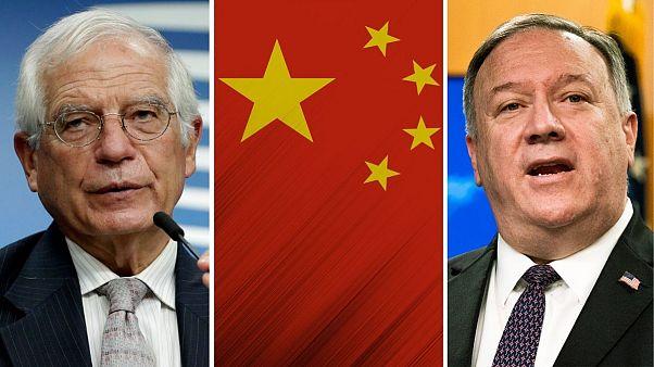 گفت وگوهای بورل و پمپئو بر سر چین