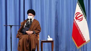 المرشد الأعلى الإيراني آية الله علي خامنئي، طهران، 24 أكتوبر 2020