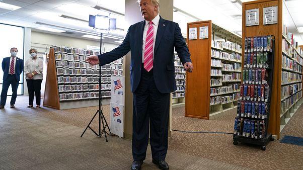 Trump előre leszavazott magára