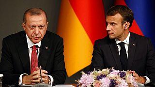Erdogan és Macron