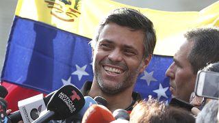Imagen de archivo del líder opositor venezolano Leopoldo López