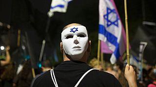 Tüntetés Jeruzsálemben