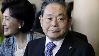 Samsung Electronics'in Yönetim Kurulu Başkanı Lee Kun-Hee