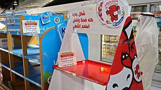 کالاهای فرانسوی در فروشگاه های کویت جمع آوری شد