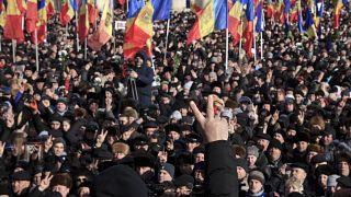 'Moldova is at a crossroads,' leader of pro-European opposition Maia Sandu tells Euronews