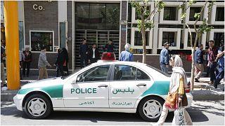 شرطة إيرانية