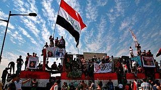 تظاهرات در بغداد در سالگرد اعتراضهای سال گذشته