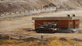 İran Azerbaycan sınırından bir kare.
