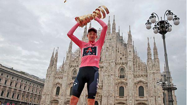 """Британец Гейган Харт одержал победу на """"Джиро д'Италия"""""""