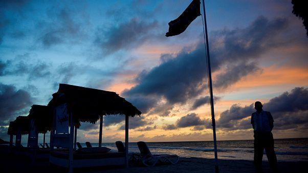 Playa de Varadero al anochecer