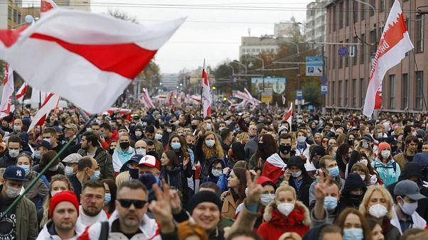 Срок ультиматума истёк, Тихановская объявила забастовку