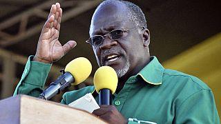 Dernier meeting de campagne pour John Magufuli