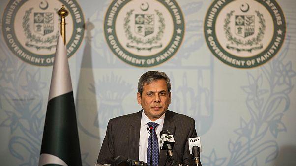 Pakistan Dışişleri Bakanlığı Sözcüsü Nafees Zekeriya/Arşiv