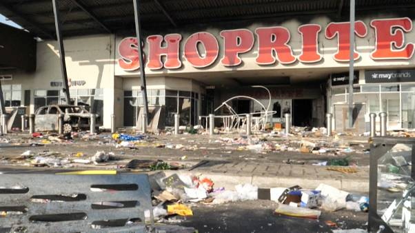 The aftermath of looting in Lagos