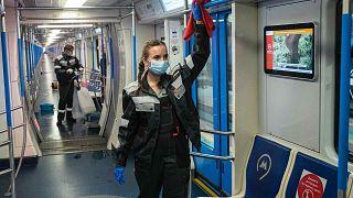 Пассажиров с температурой не будут пускать в московское метро