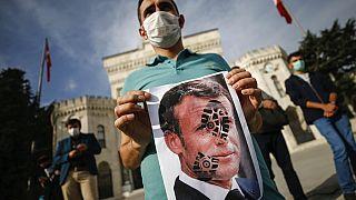 Sube la tensión entre Turquía y Francia a raíz de las caricaturas de Mahoma