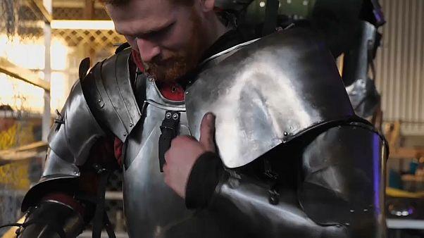 Участник рыцарских боёв в Квинсленде