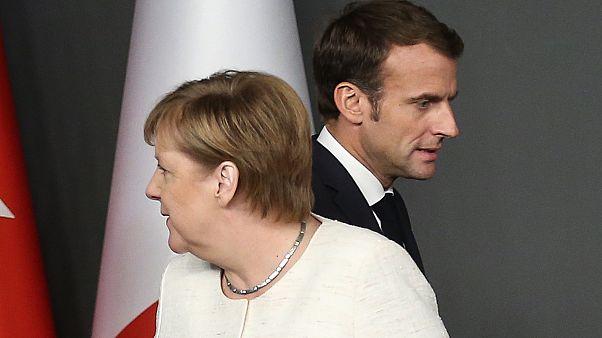 Merkel ve Macron