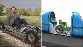 """مركبة """"أوربن لوب"""" قد تصبح البديل عن السيارات وحافلات النقل داخل المدن"""