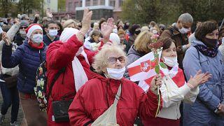 Belarus'taki genel grev çağrısına emekliller de destek verdi