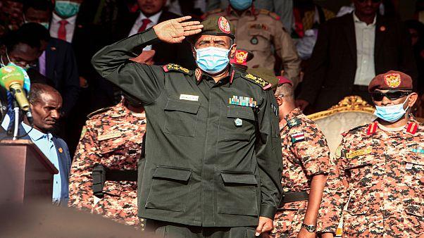 رئيس مجلس السيادة الانتقالي في السودان الفريق عبد الفتاح البرهان