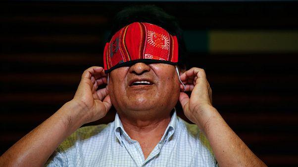 Eski Bolivya Devlet Başkanı Evo Morales