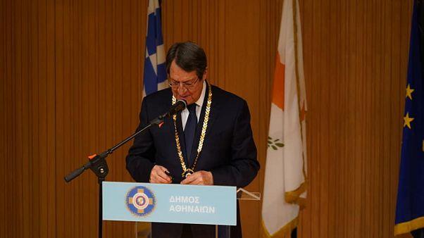 Ο πρόεδρος της Κυπριακής Δημοκρατίας Νίκος Αναστασιάδης