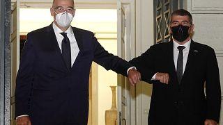 Οι υπουργοί Εξωτερικών Ελλάδας και Ισραήλ