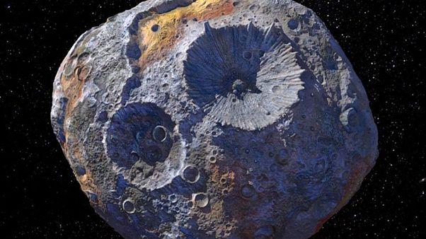 تصویر سیارک از دریچه لنز تلسکوپ فضایی هابل