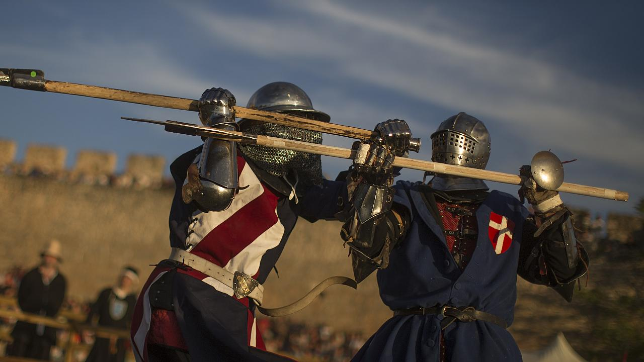 'Historic Medieval Battles' have recently become a popular form of sport in the Darling Downs region of Queensland, Australia
