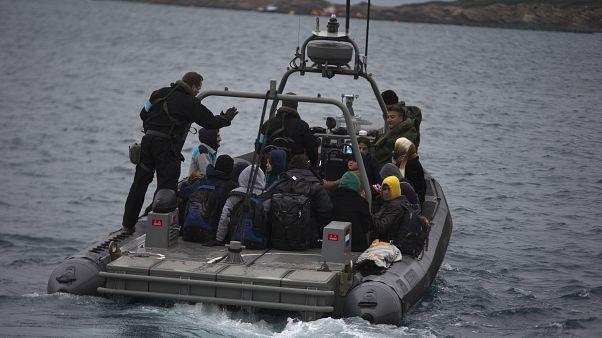 Yunan sahil koruma botu