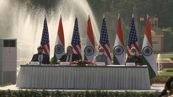 Washington y la Inidia firman un nuevo acuerdo militar