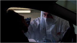 اختبار الكشف عن الفيروس