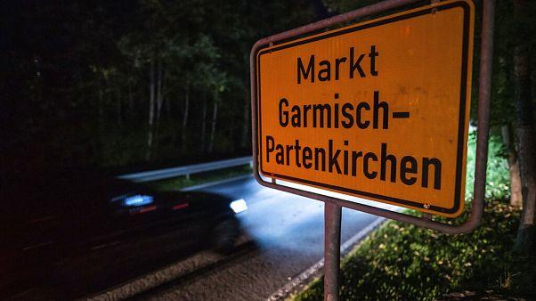 Ortseingangsschild Garmisch-Partenkirchen