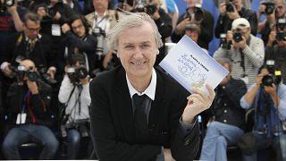 Карикатурист Плантю на Каннском фестивале в 2013 году