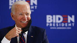 Joe Biden bei einem Runden-Tisch-Gespräch in Philadelphia, 11.06.2020