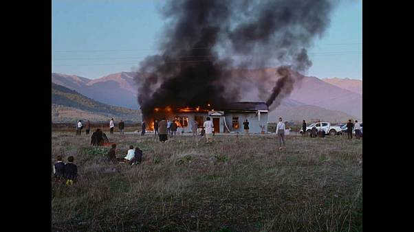 "Una imagen de la película georgiana ""Beginning"", de Dea Kulumbegashvili"