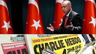 Charlie Hebdo'dan Erdoğan karikatürü