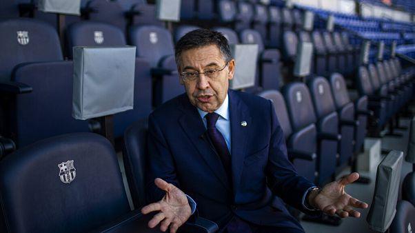 Josep Bartomeu, who has resigned as president of Barcelona FC